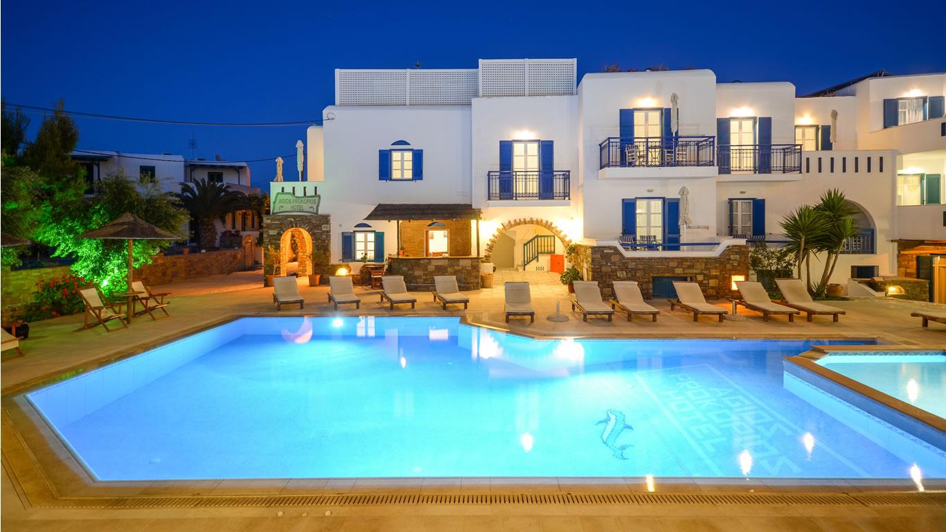 Naxos Hotels Agios Prokopios Hotel Beach Rooms In Studios Spa Agia Anna